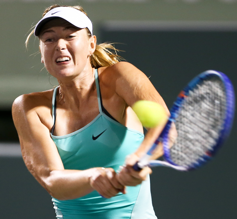 Maria Sharapova - PRP Shoulder