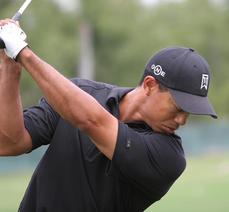 Tiger Woods - PRP Knee